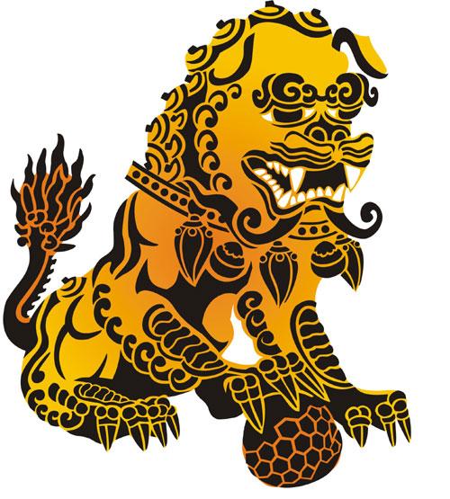 Chinese Dragon Oriental Stencil Designs From Stencil Kingdom